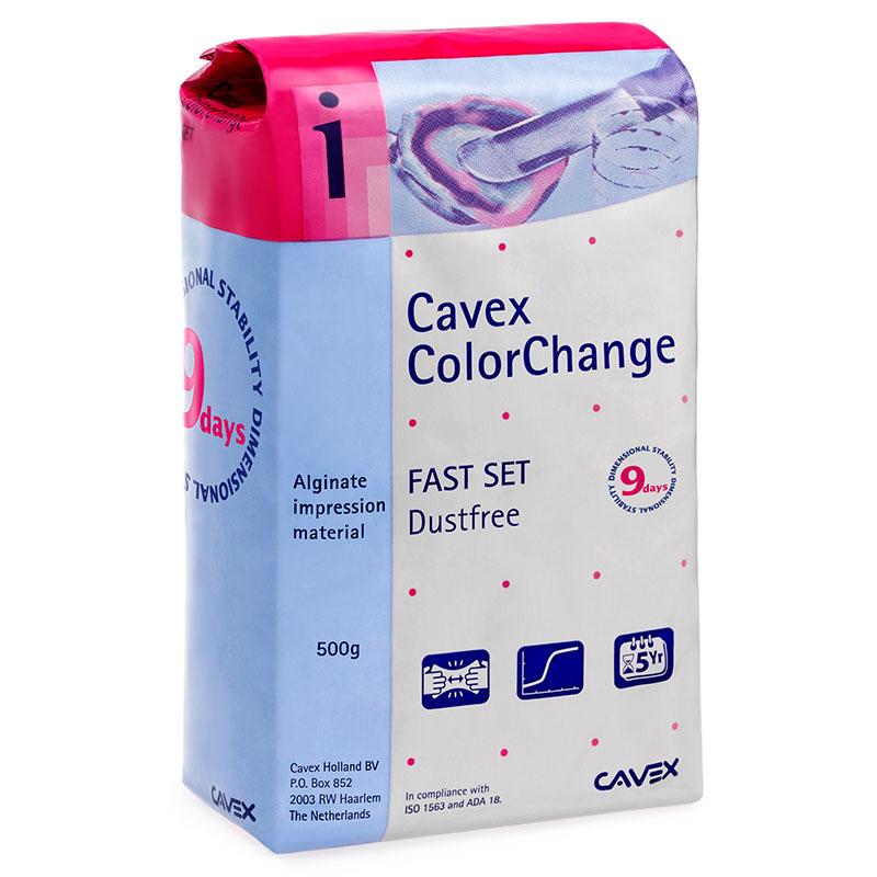 Cavex ColorChange Alginate Fast Set 500g