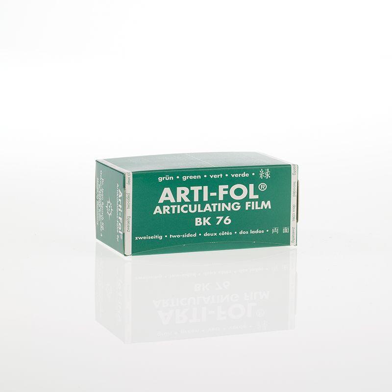 Bausch Arti-Fol Plastic in cardboard-box 2/S 75 mm Green 8u BK76