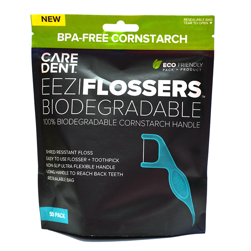 Caredent EeziFlossers Biodegradable UHMPE 50