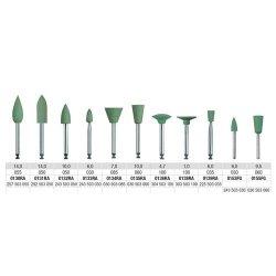 Edenta Alphaflex Metal Polishers Green