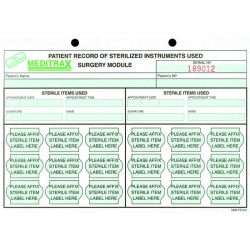 Getinge Surgery Patient Record Sheet