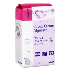 Cavex Cream Alginate Fast Set 500g