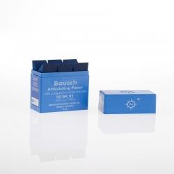 Bausch Articulating Paper w/Dispenser box Blue 200u BK01
