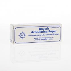 Bausch Articulating Paper Booklets Blue 200u BK05