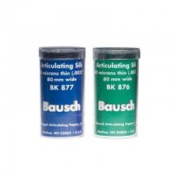 Bausch Articulating Silk 80 mm wide Blue 80u BK877