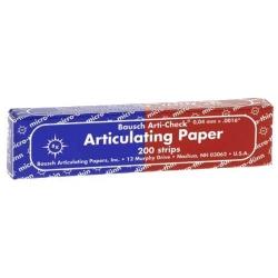 Bausch Articulating Paper/strips 104 x 20 mm Blue/Red 40u BK80