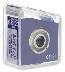 Bausch Arti-Fol Plastic w/Dispenser 1/S 22 mm Blue 8u BK23