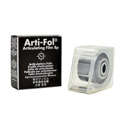 Bausch Arti-Fol Plastic w/Dispenser 2/S 22 mm Black 8u BK24