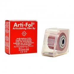 Bausch Arti-Fol Plastic w/Dispenser 2/S 22 mm Red 8u BK25