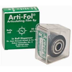 Bausch Arti-Fol Plastic w/Dispenser 2/S 22 mm Green 8u BK26