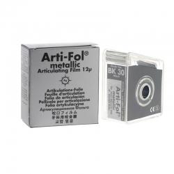 Bausch Arti-Fol Metallic w/Dispenser 1/S 22 mm Black 12u BK30