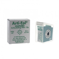 Bausch Arti-Fol Metallic w/Dispenser 1/S 22 mm Green 12u BK 32