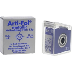 Bausch Arti-Fol Metallic w/Dispenser 1/S 22 mm Blue 12u BK 33