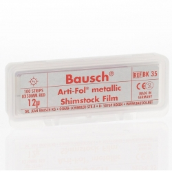 Bausch Arti-Fol Metallic 1/S 8 mm Red 12u BK 35