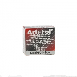 Bausch Arti-Fol Metallic 22mm wide 2/S Refill Black/Red 12u BK 1028