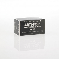 Bausch Arti-Fol Plastic in cardboard-box 1/S 75 mm Black 8u BK 70