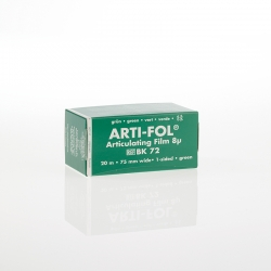 Bausch Arti-Fol Plastic in cardboard-box 1/S 75 mm Green 8u BK 72