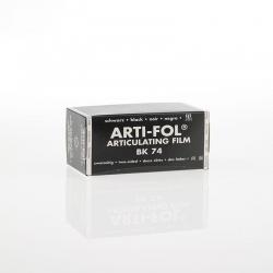 Bausch Arti-Fol Plastic in cardboard-box 2/S 75 mm Black 8u BK74