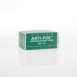 Bausch Arti-Fol Plastic in cardboard-box 2/S 75 mm Green 8u BK 76