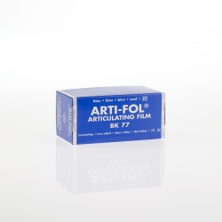 Bausch Arti-Fol Plastic in cardboard-box 2/S 75 mm Blue 8u BK 77