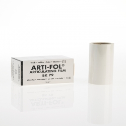 Bausch Arti-Fol Plastic in cardboard-box 1/S 75 mm White 8u BK 79