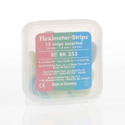 Bausch Fleximeter-Strips 10/15/ 20 mm - one piece each Assorted  BK254