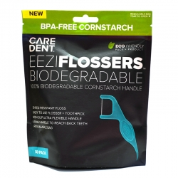 Caredent EeziFlossers Biodegradable UHMPE 50