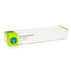 Ongard Eco Syringe Sleeves with Opening 64mm x 254mm