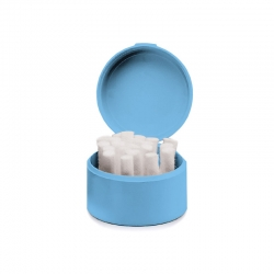 Integra Cotton Roll Holder Blue